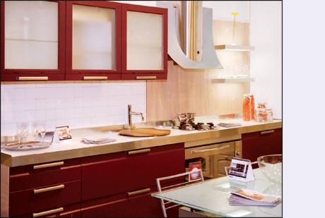 Дизайн обоев кухни