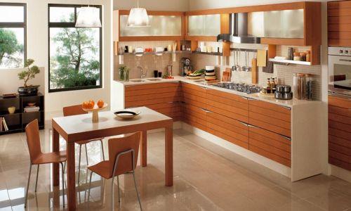 Основа кухонной мебели - напольные шкафы.  Для того чтобы женщине...