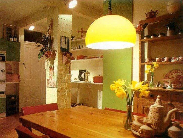 Абажур на кухню фото