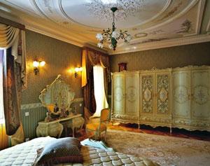 Спальня. красивый интерьер спальни фото.